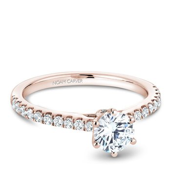 Noam Carver Modern Engagement Ring B142-17RA