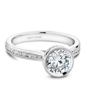 Noam Carver Vintage Engagement Ring B145-12A