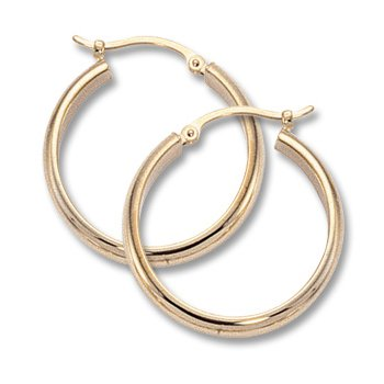 14kt Hoop Earrings