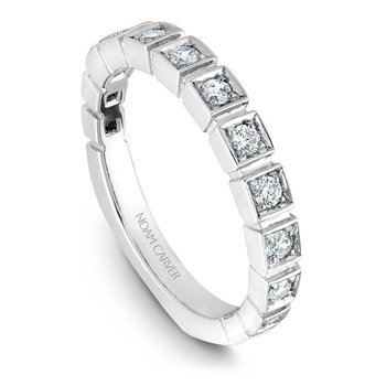 Noam Carver Wedding Band B008-01B