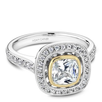Noam Carver Fancy Engagement Ring R040-03WYA