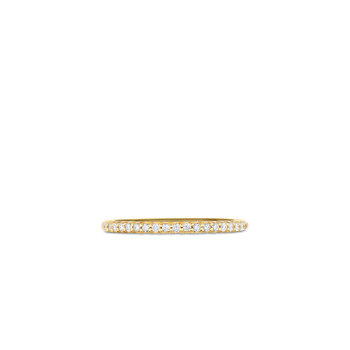 18Kt Gold Eternity Band Ring