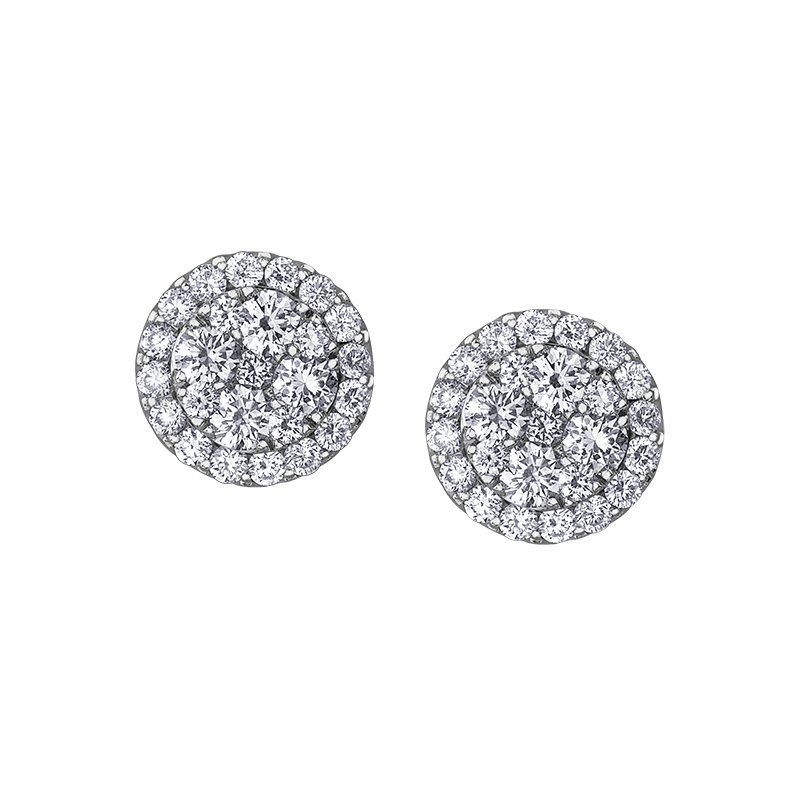 D of D Signature Diamond Earrings