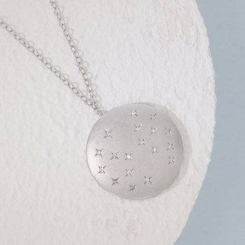 Oh, Starry Night Sterling Silver Necklace