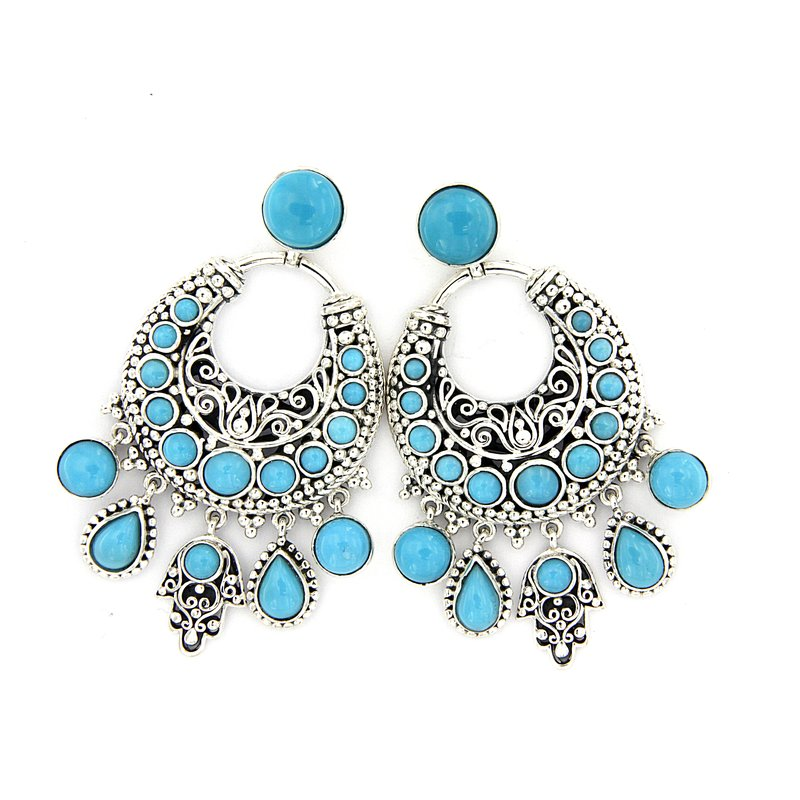 Samuel B Bohemian Chandelier Earrings