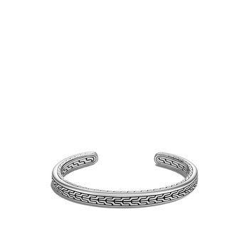 Classic Chain 7MM Cuff in Silver