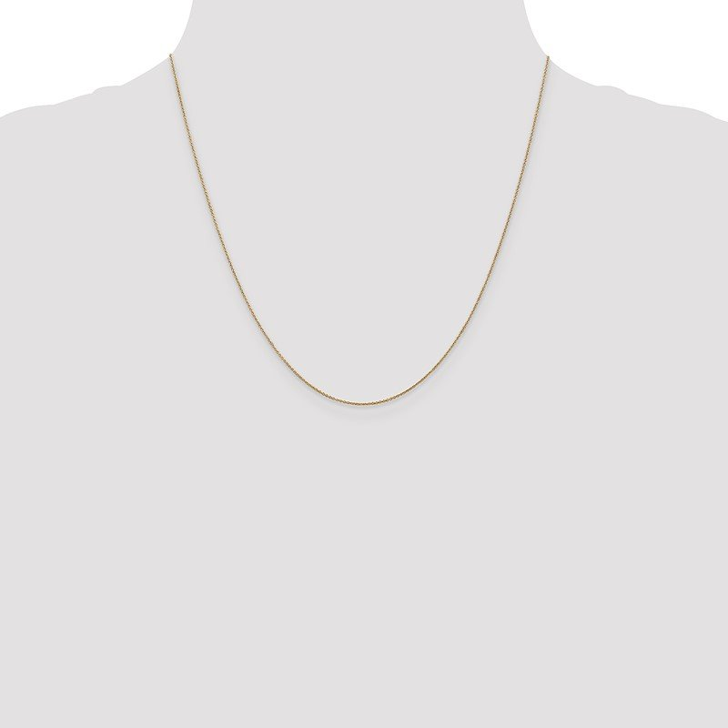 Quality Gold 14k .75mm Cable Pendant Chain