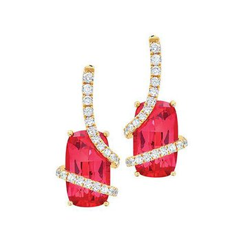 Padparadscha Earrings-CE2467CYPD