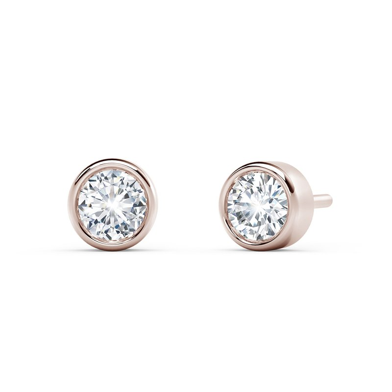Forevermark Black Label The Forevermark Tribute™ Collection Bezel Stud Earrings