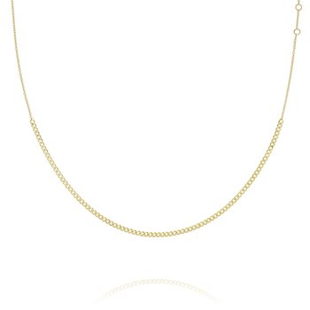 Cutie Curb Link Chain Necklace