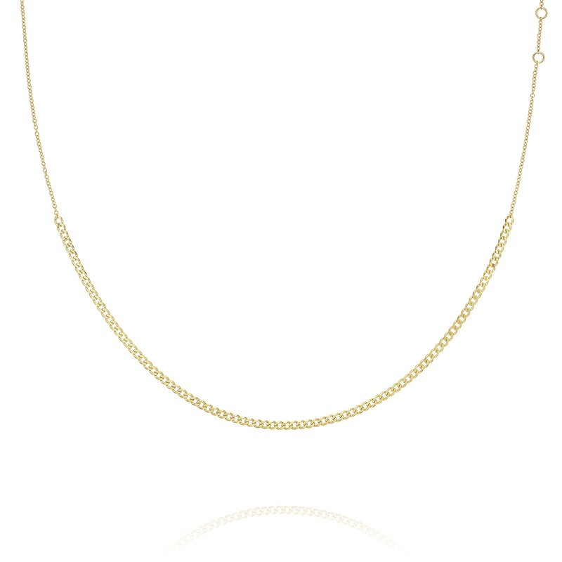 Tacori Cutie Curb Link Chain Necklace