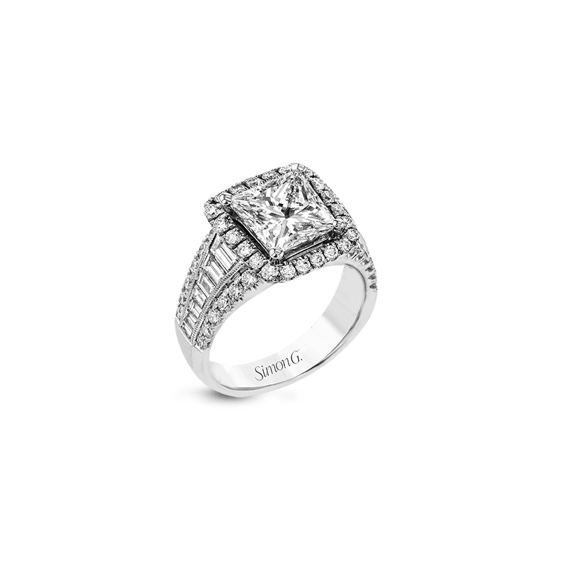 Simon G LR1164-PC ENGAGEMENT RING