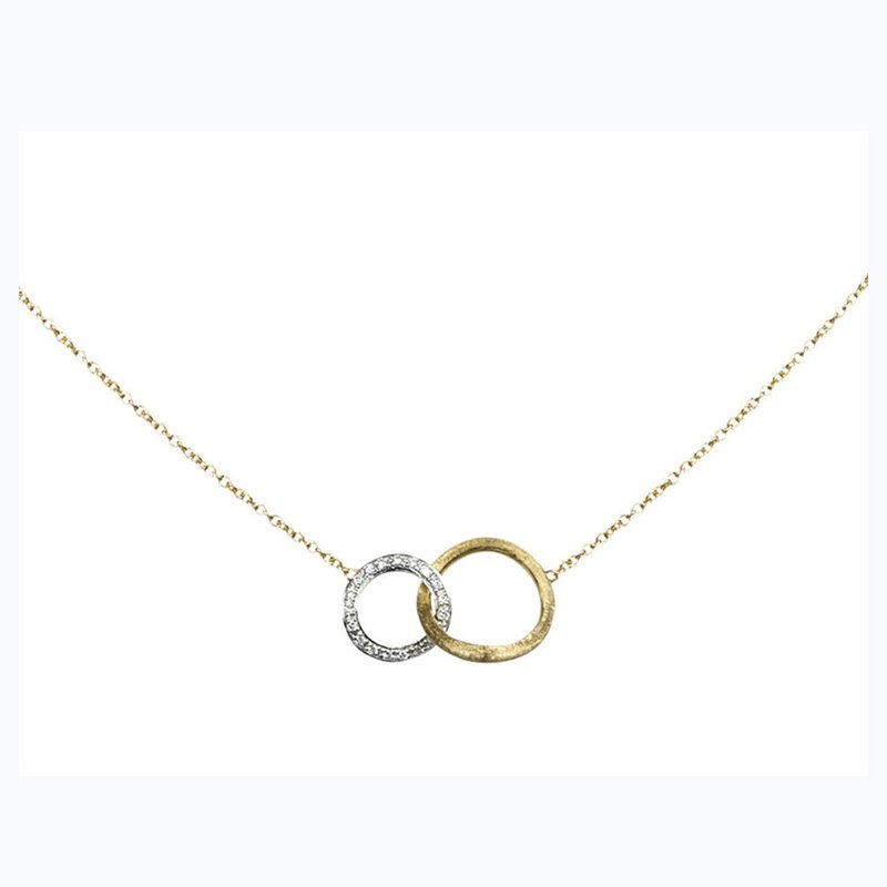 Marco Bicego Diamond Jaipur Link Fashion Necklace