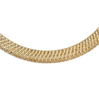 Leslie's 14k Fancy Stretch Necklace