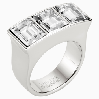 Fluid Ring, Gray, Palladium plated