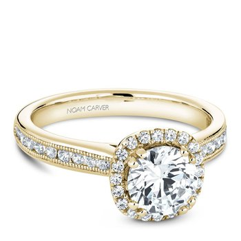 Noam Carver Vintage Engagement Ring B145-06YA