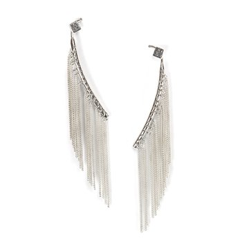 Bulu Fringe Earrings