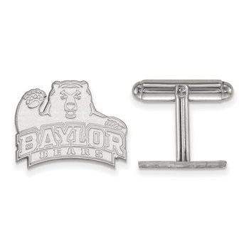 Sterling Silver Baylor University NCAA Cuff Links