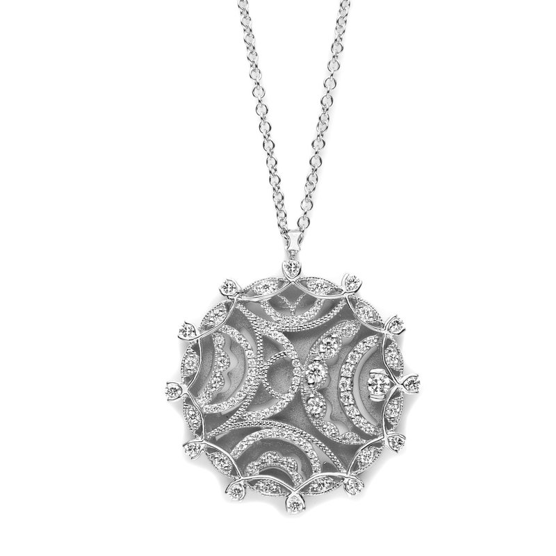 Tacori Golden Sunshine Medallion