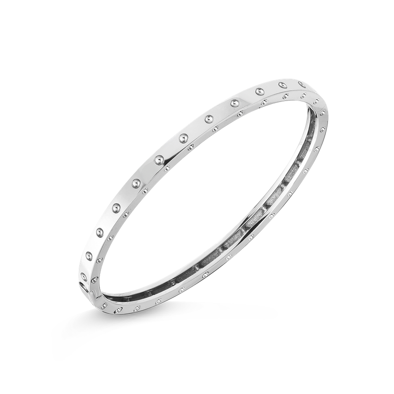 Roberto Coin  #5633 Of Pois Moi Oval Bangle