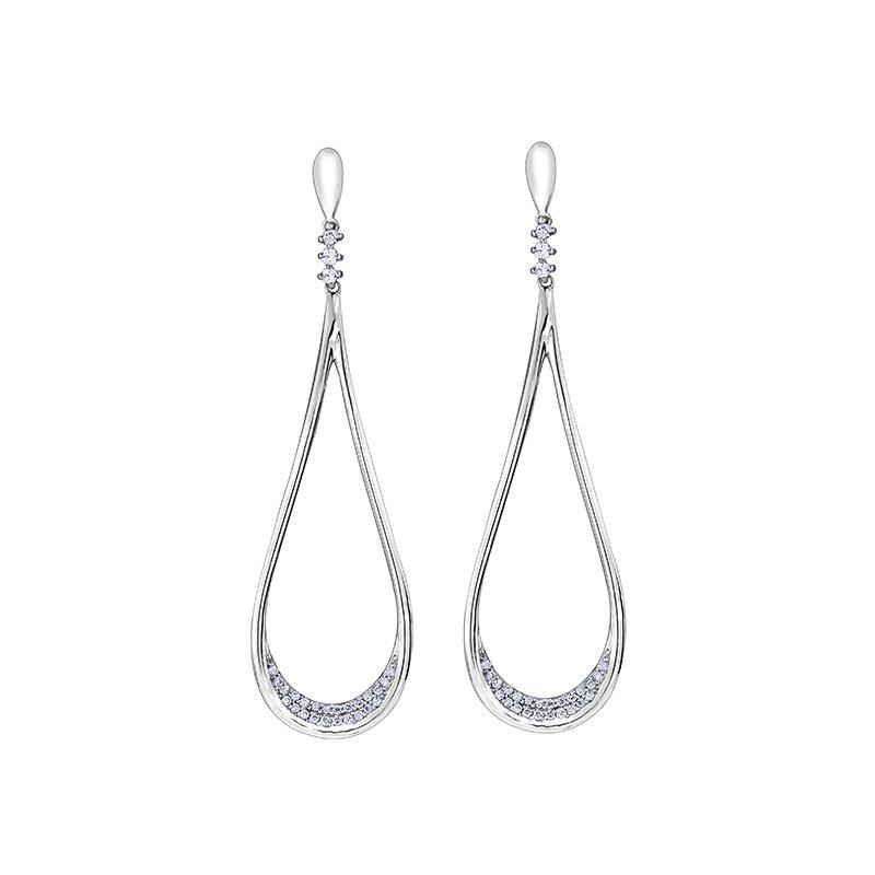 Maple Leaf Diamonds Diamond Earrings
