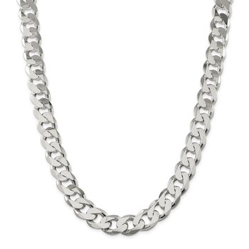 Sterling Silver 15mm Curb Chain