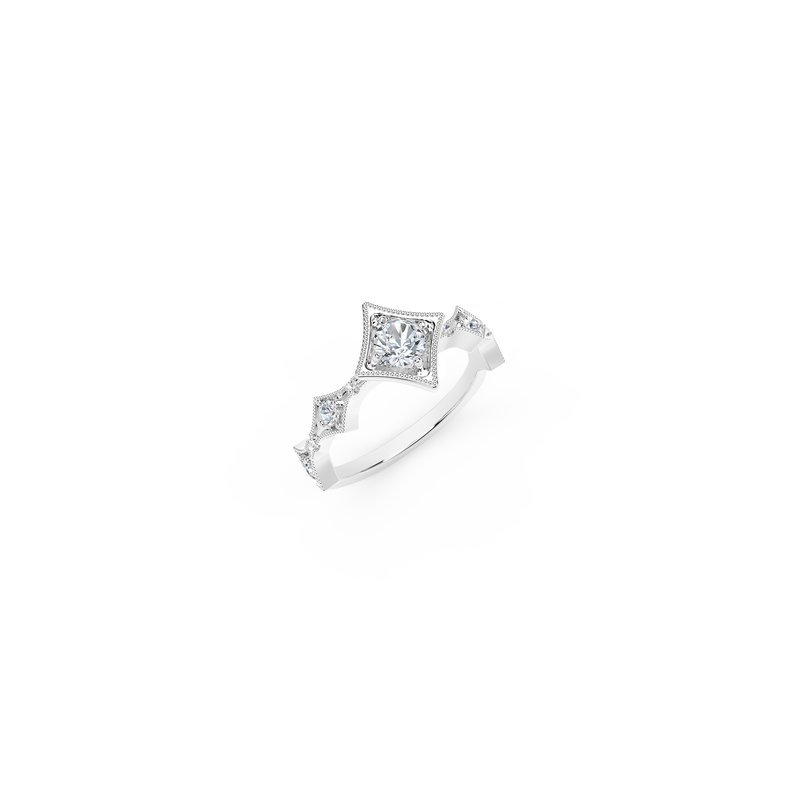 Forevermark The Forevermark Tribute™ Collection Modern Diamond Ring