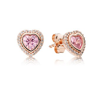 Sparkling Love, Pandora Rose™ Pink Clear Cz