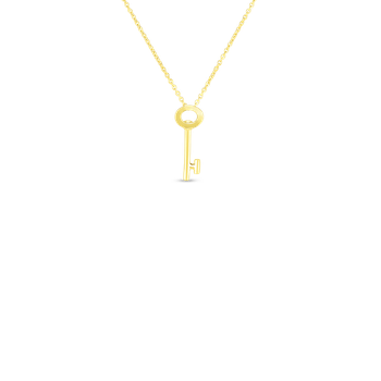 #26845 Of 18Kt Gold Key Pendant