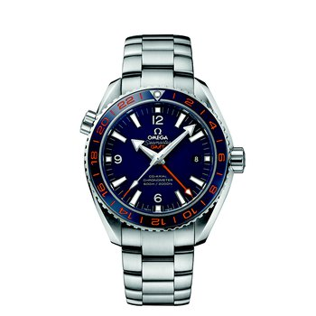 Seamaster Planet Ocean 600 M Omega Co-Axial  GMT