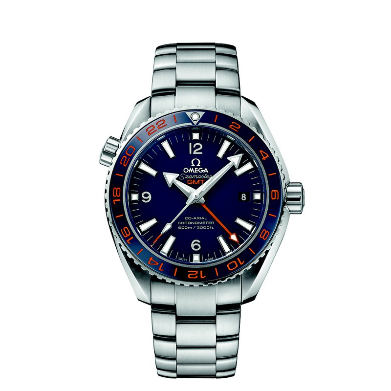 Omega Seamaster Planet Ocean 600 M Omega Co-Axial  GMT