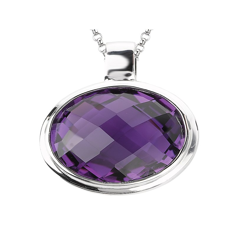 Eleganza Ladies Gemstone Pendant