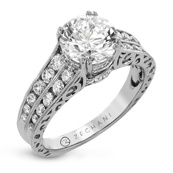 ZR1387 ENGAGEMENT RING