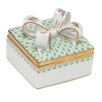 Box with Bow - Key Lime