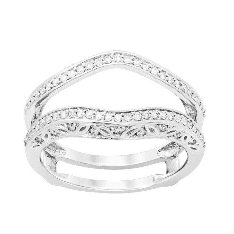 Elite Collection 14K 0.33Ct Diamond Ring Guard