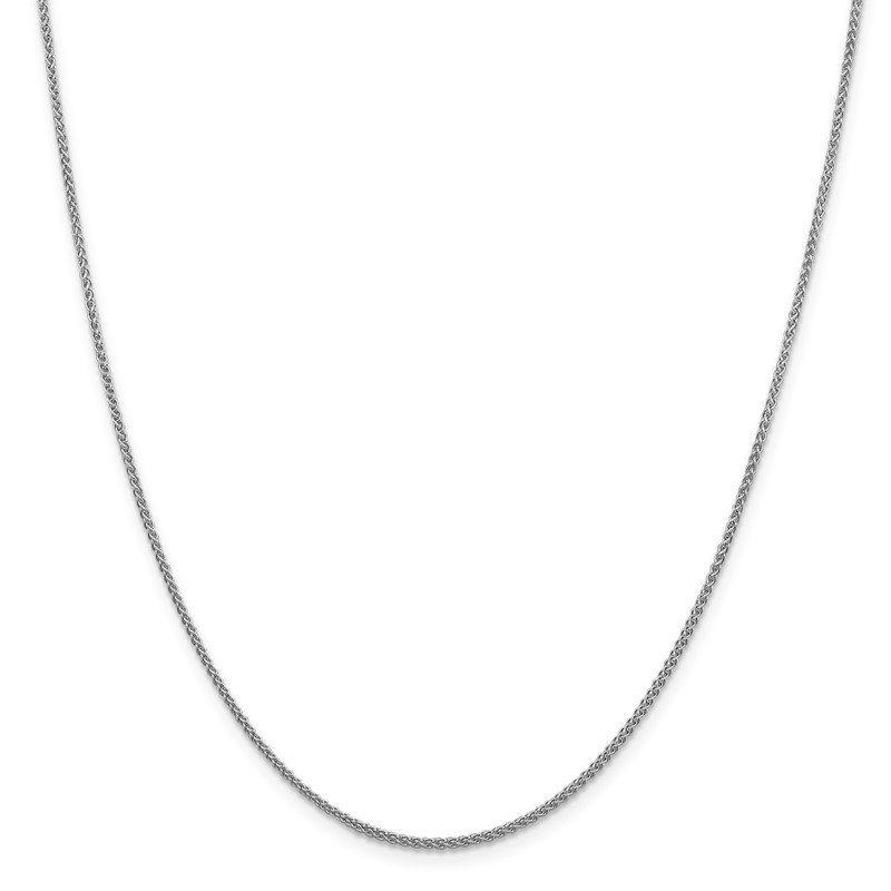 Leslie's Leslie's 14K White Gold 1.5mm Spiga (Wheat) Chain