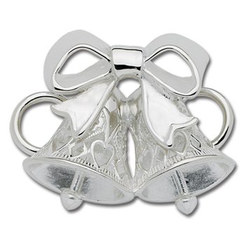 Sterling Silver Double Bells