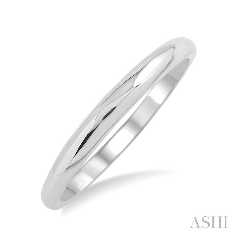 ASHI shadow wedding band