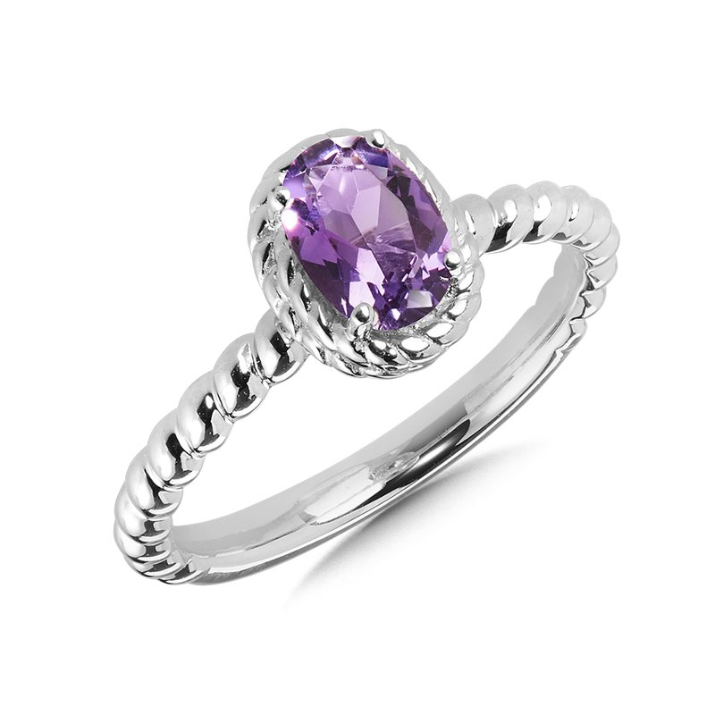 SDC Creations Amethyst Ring in Sterling Silver