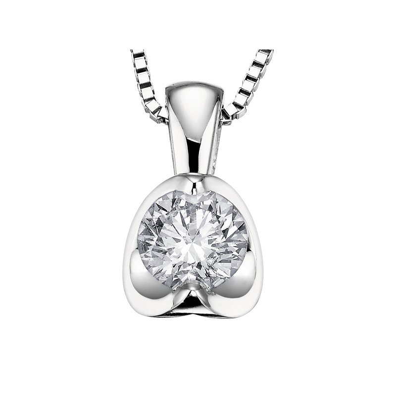 Diamond Wishes Diamond Pendant