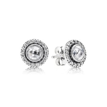 Brilliant Legacy Stud Earrings, Clear Cz
