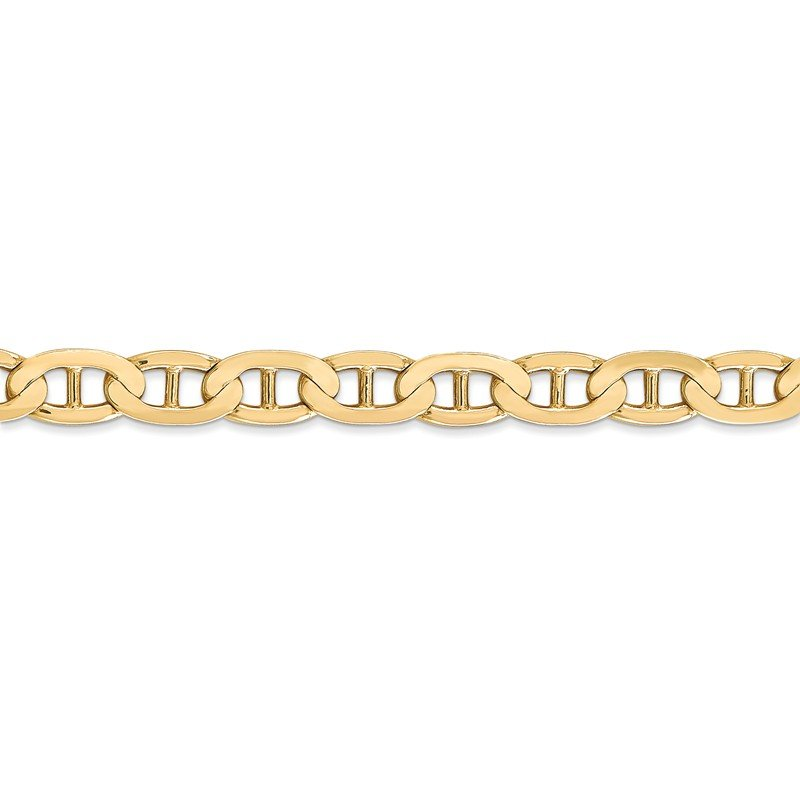 Leslie's Leslie's 14K 6.25mm Concave Anchor Chain