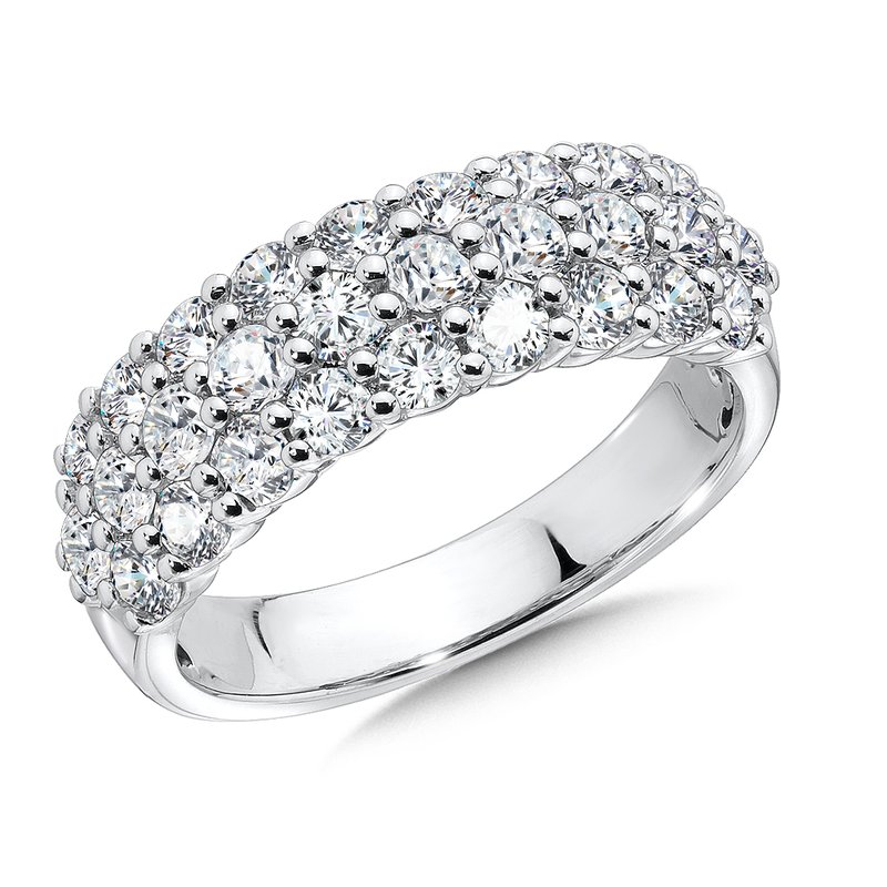 7a9a7e218 SDC Creations Prong set Anniversary Diamond Ring 14k White Gold (2ct. tw.)