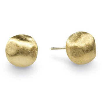 Africa Gold Small Stud Earrings