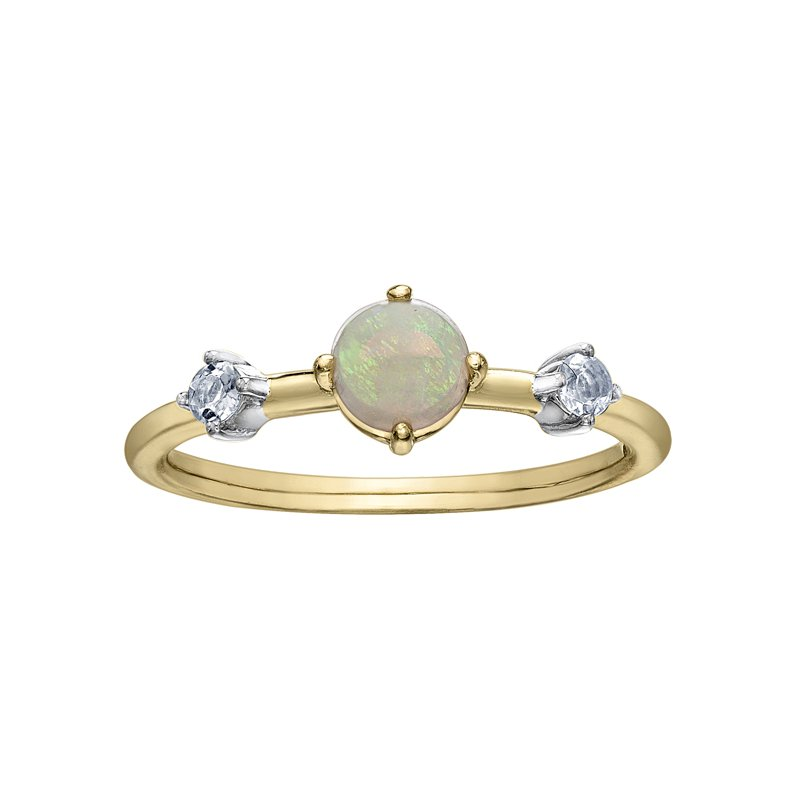 Lasting Treasures™ Opal Ladies Ring