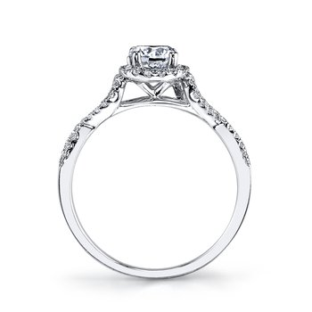25392 Diamond Engagement Ring 0.31 ct tw