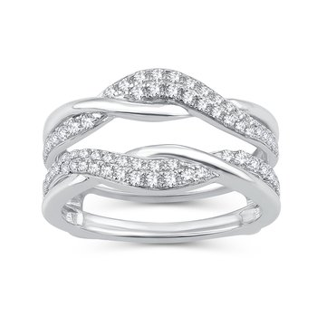 14K 0.50Ct Diamond Ring Guard