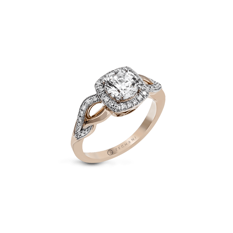 Zeghani ZR1135 ENGAGEMENT RING