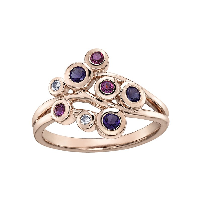 D of D Signature Amethyst Ladies Ring