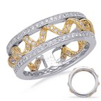 S. Kashi  & Sons Yellow & White Gold Fashion Ring